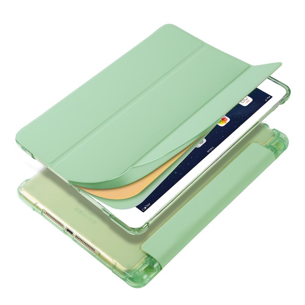 Matcha Ivory Case for iPad Pro 12 9 2020 A2229 A2069 A2032 A2233 Case Multi Fold PU Leather