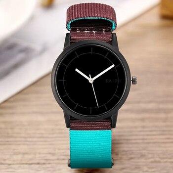 Женские часы с нейлоновым ремешком Shifenmei