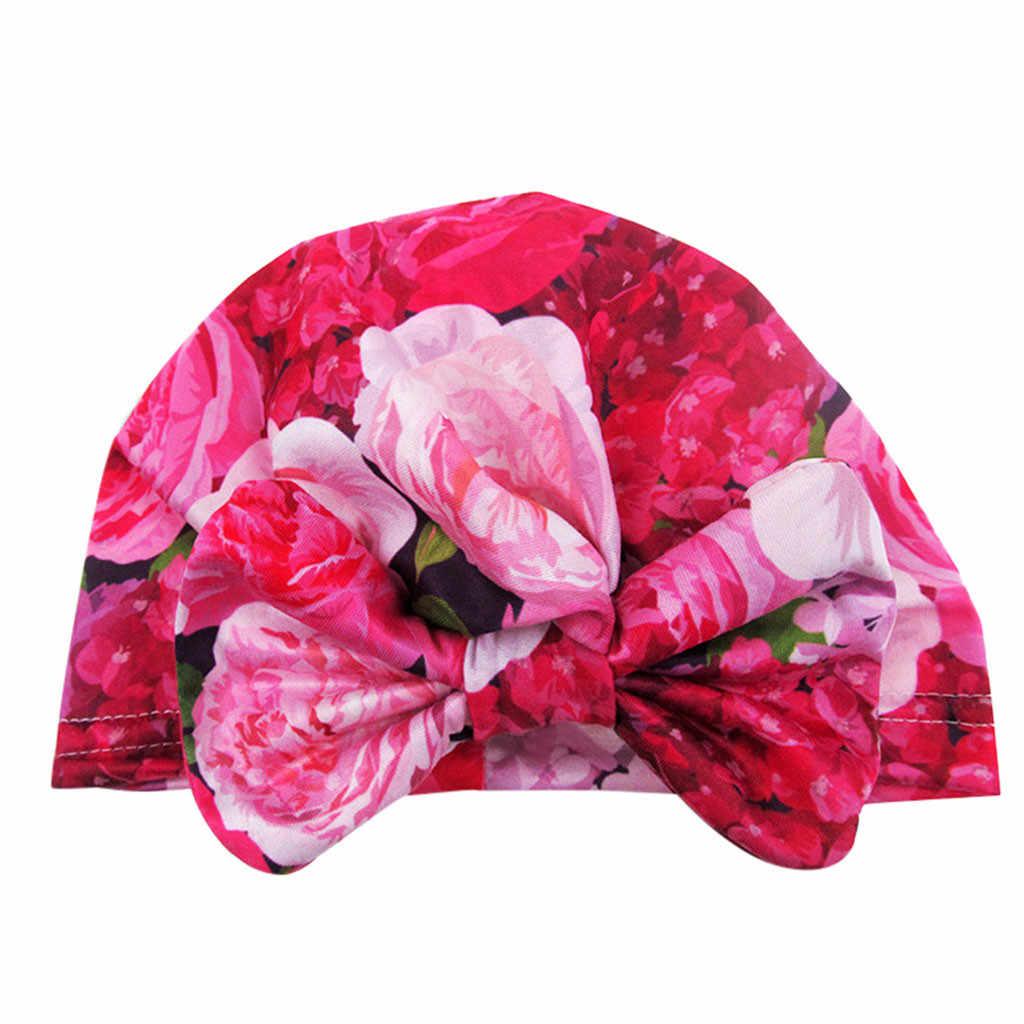 ใหม่เด็กทารกหมวกหมวกหมวกเด็กแรกเกิดการถ่ายภาพ Props เด็กทารกฤดูหนาวเด็กหมวกดอกไม้เด็กอุปกรณ์เสริมหมวกเด็กแรกเกิด bonnet