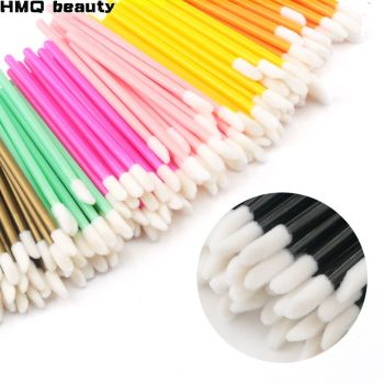 100/150pcs Lip Brush Disposable Makeup Set Mascara Glossy Wands Eye Shadow Cleaning Eyelash Eyebrow Professional tools