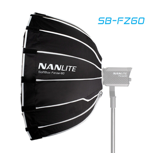 Image 1 - Nanguang SB FZ60 60 سنتيمتر سوفت بوكس ل Nanguang Forza 60 مظلة بمصابيح إضاءة التصوير ضوء لينة صندوق بوين جبل مستديرة