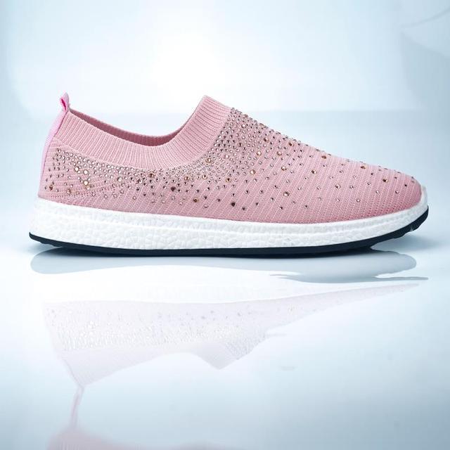 Women shoes Sneakers Shiny Sock  4