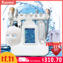 11 in 1 Hydra Dermabrasion RF Bio lifting Microdermabrasion Facial Machine Water Oxygen Jet Hydro Diamond Peeling Beauty Machine