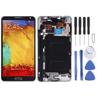 LCD Screen and Digitizer Full Assembly with Frame & Side Keys (TFT Material) for Samsung Galaxy Note 3 / N9005 (3G Version)