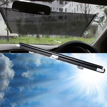 1pc New high quality Sun Shade Visor Car Retractable Windshield Folding Block Cover Front/Rear Window