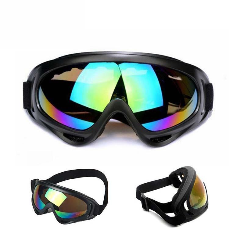 Очки для катания на лыжах и сноуборде, очки для катания на горных лыжах, зимние спортивные очки для катания на снегоходах