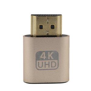 VGA HDMI Dummy Plug Virtual Display Emulator Adapter DDC Edid Support 1920x1080p for Video Card BTC Mining Miner Stock ONLENY