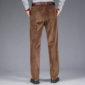 Image 3 - 2020 осень и зима новые мужские вельветовые повседневные брюки деловые модные высококачественные прямые Стрейчевые брюки мужские брендовые