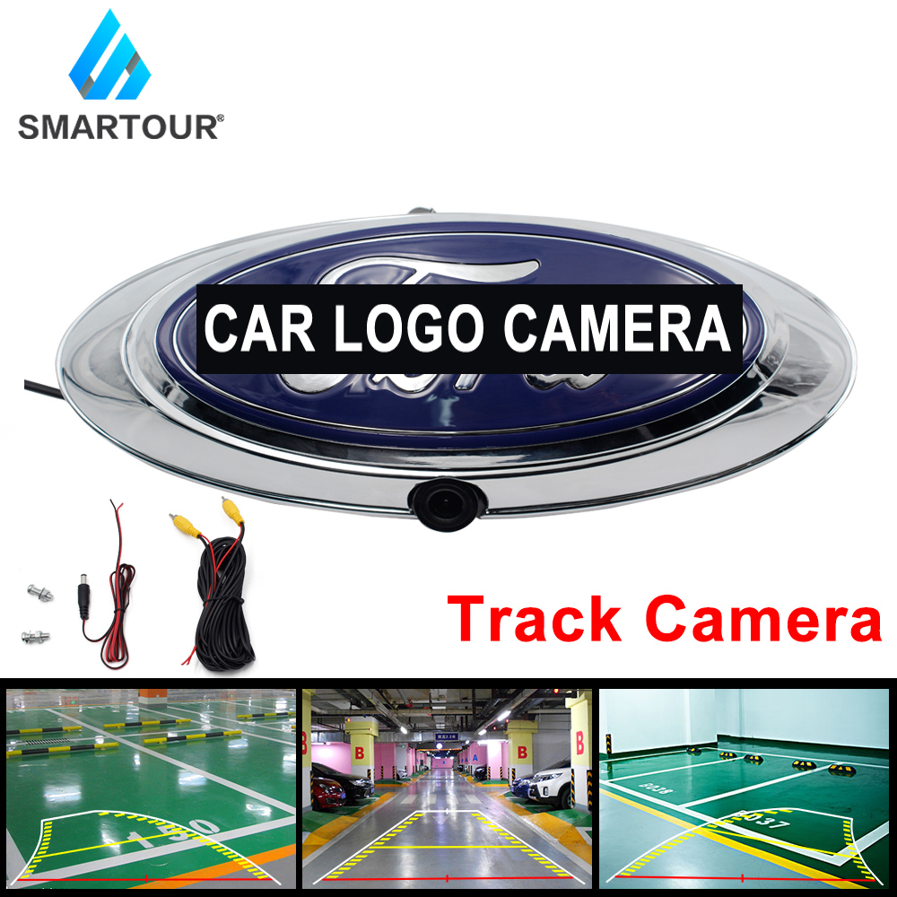 Smartour Car Rear Front Side View Camera Switch Parking System Reverse Camera for FORD Ranger T6 T7 T8 XLT 2012-2019 Pickup
