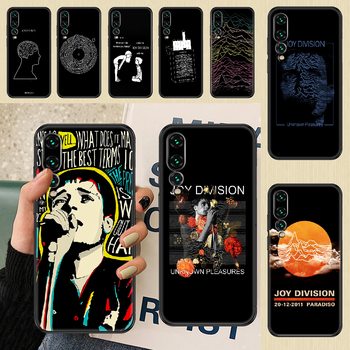 Joy Division Ian Curtis Phone case For Huawei P Mate P10 P20 P30 P40 10 20 Smart Z Pro Lite 2019 black silicone hoesjes painting image