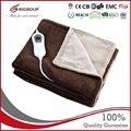 Фланелевое электрическое тепловое одеяло с подогревом, 220-240 В, 120 Вт, 160x120 см