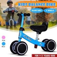 Ayarlanabilir bebek denge Toddler Scooter bebek bisiklet yürüteç çocuklar oyuncak araba hediye 1-3years eski çocuklar için öğrenme yürüyüşü