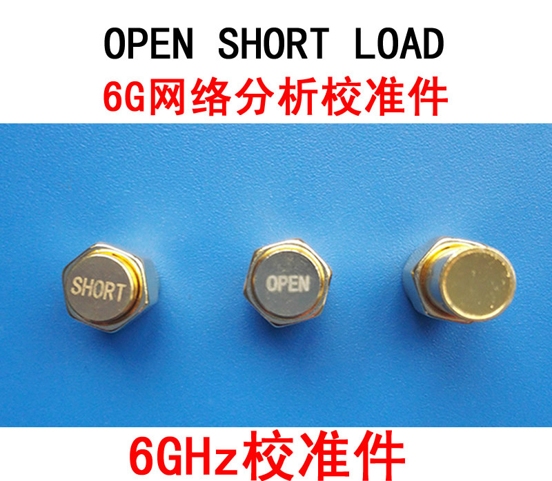 6G Vector Network Analyzer Calibration Parts OPEN SHORT LOAD