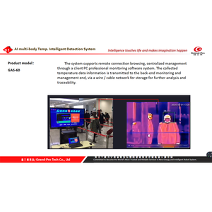 Image 4 - Grand Pro GAS 60 AI Multi people body temp. monitoring system Joint Develop with Baidu