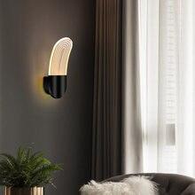 Настенный светильник светодиодный 12 Вт 90 260 В золотой/черный