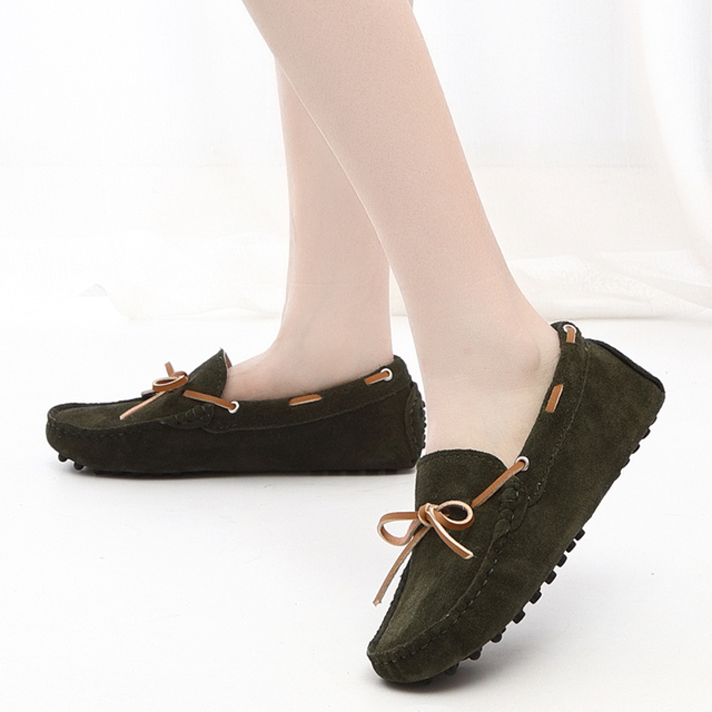 Womens Summer Moccasin Shoes