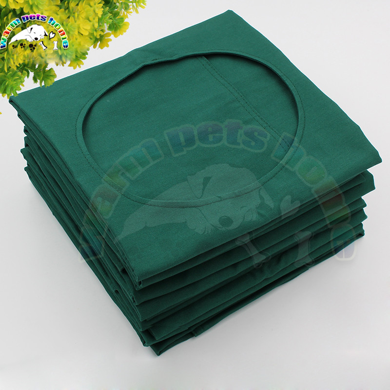 Surgical Cloth Hole Towel Cotton Green Cloth Surgical Treatment Towel High Temperature Disinfection Surgical Towels With Hole