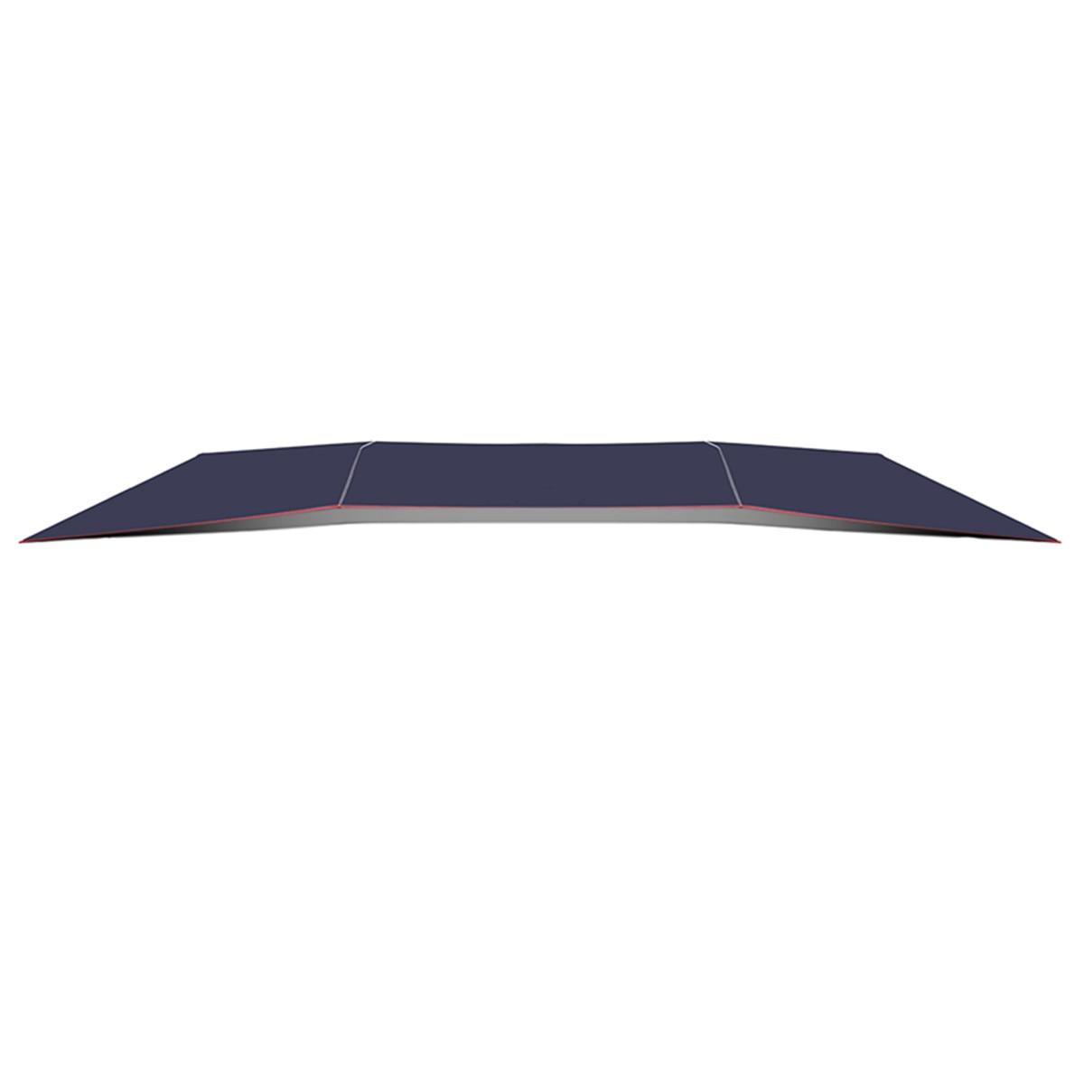 4.5x2.3 M/4.2x2.1 M Portable extérieur voiture véhicule tente voiture parapluie soleil ombre couverture Oxford tissu Polyester couvre sans support - 3