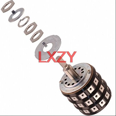 Free Shipping 2Pcs/lot TS2N TS-2 Rotary Switch Band Switch SP11T 6A Genuine Original