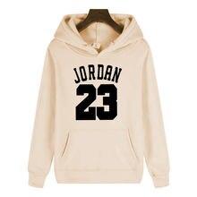 Зима 2020 теплая шерстяная Толстовка jordan 23 мужская спортивная