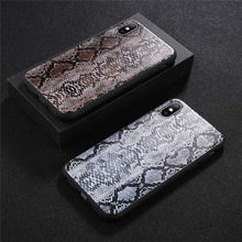 Fashion Snake Skin Case For iPhone X XS XR XS Max 8 7 6 6s Plus 5 5s SE Leopard Print Phone Cases Soft TPU Silicone Back Cover цена и фото