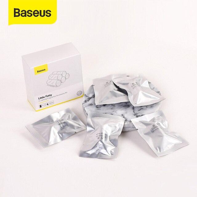 Baseus 5pcs Ricariche di Lunga durata Per Auto Bevanda Rinfrescante di Aria Auto Profumo Solido