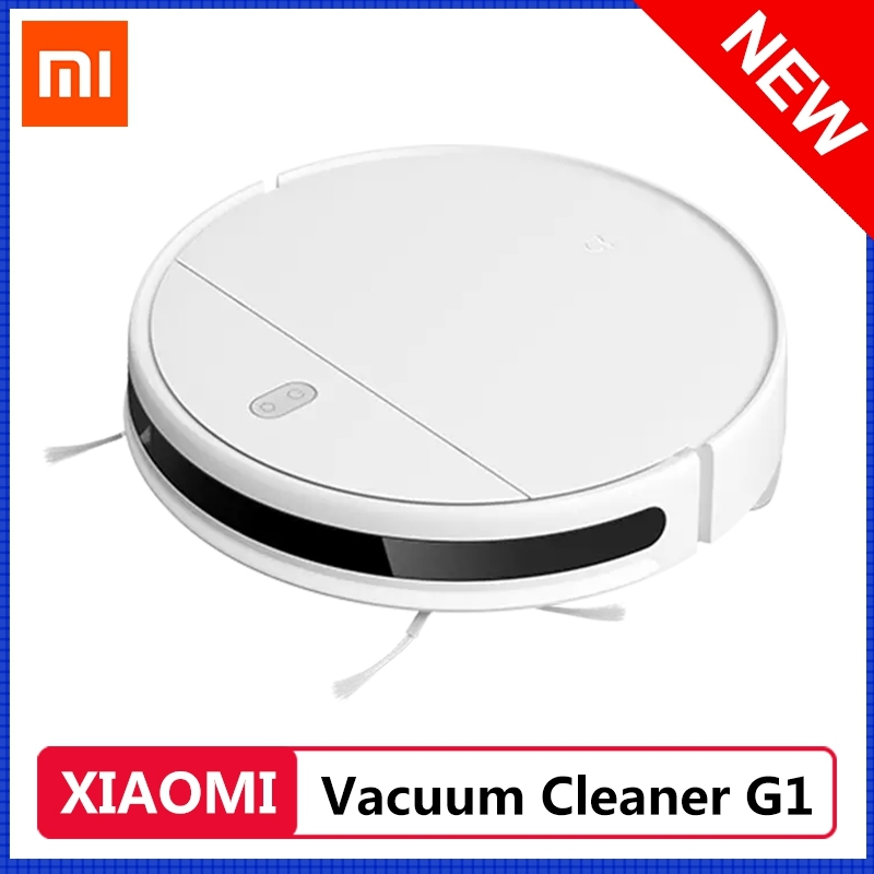 New Xiaomi Mijia Sweeping Mopping Vacuum Cleaner Robot G1 2200Pa Suction Smart Cleaning Planned Two In One For Home WIFI Control|Vacuum Cleaners|   - AliExpress
