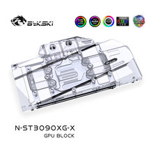 Water-Block Bykski Trinity RTX3080 Radiator/rgb Gpu-Card/full-Cover 3090 Zotac X-GAMING