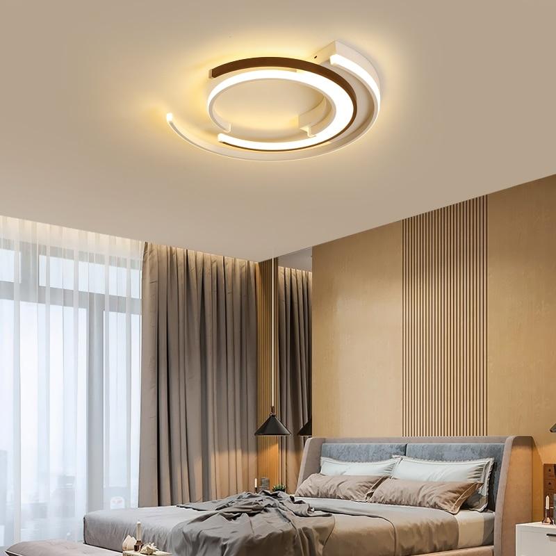 DEL Plafonniers RGB Télécommande salon chambre textile Lampes Lumière
