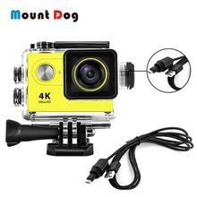 30M étui étanche pour Eken H9 Sj4000 WiFi 4K Action Sport caméra plongée sous marine boîtier boîtier boîtier protecteur accessoires Kit