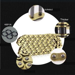 Image 3 - 520 525 530 joint torique x ring huile joint chaîne dentraînement contient un connecteur, pour course ATV UTV moto CRF250 YZ450F CBR600 YZF R1