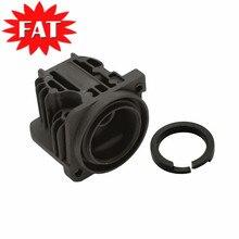 Compresor de suspensión neumática para Audi Q7 anillo de pistón y cabezal de cilindro para Touareg, Kit de reparación de bomba de aire de Cayenne 4L0698007 7L0698007