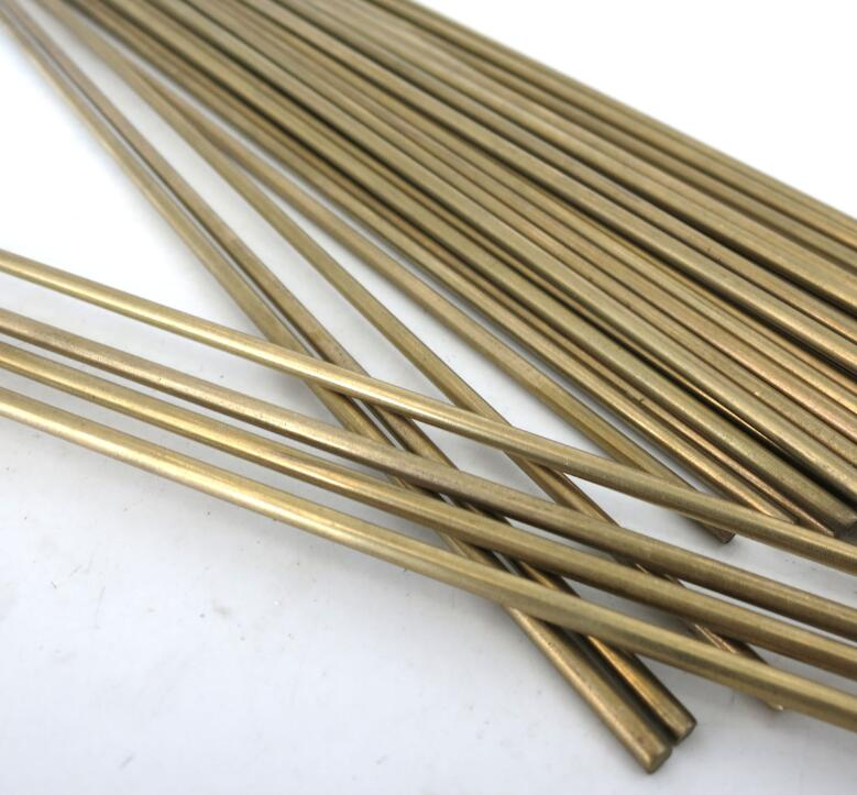 20Pcs Round Shaft Solid Durable Brass Rods Axles 3mm x 200mm