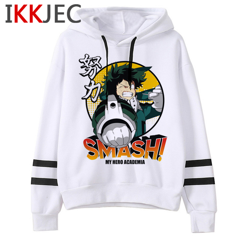 My Hero Academia S4 Funny Cartoon Hoodies Men/women Boku No Hero Academia Himiko Toga Sweatshirts Senpai Anime Hoody Male/female