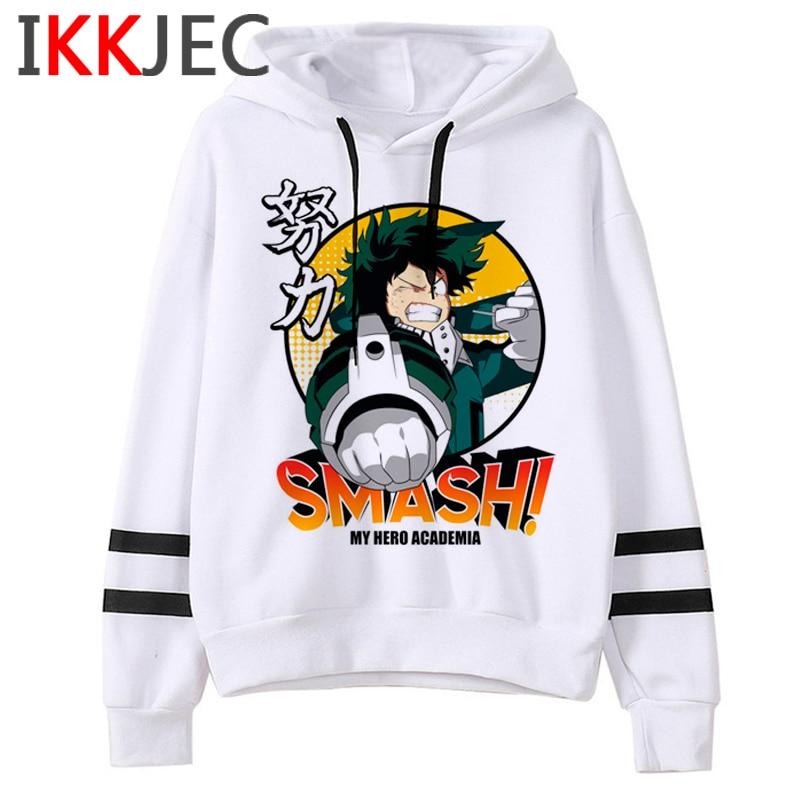 My Hero Academia S4 Funny Cartoon Hoodies Men/women Boku No Hero Academia Himiko Toga Sweatshirts Senpai Anime Hoody Male/female