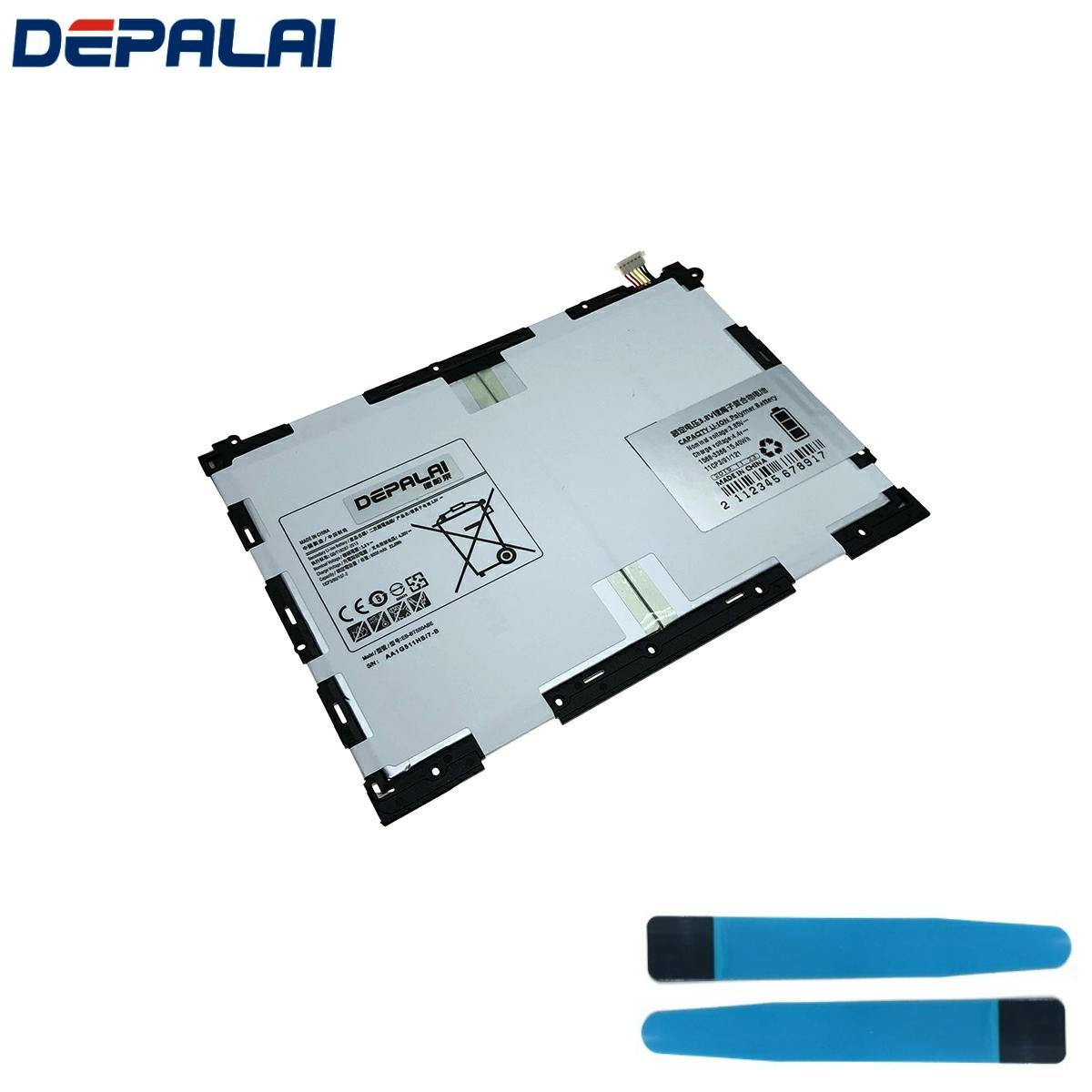 NEW Good quality AAA 6000mAh BT550ABE Battery For Samsung Galaxy Tab A 9.7 SM-T550 T550 T555 T550X P550 <font><b>P555</b></font> P550C With Tools image