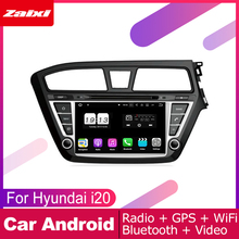 ZaiXi android car dvd gps multimedia player For Hyundai i20 Elite i20 2014~2019 RHD car dvd navigation radio video audio player цена 2017