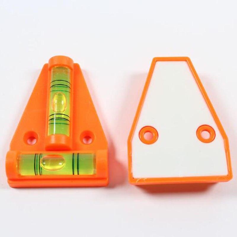1pc Mini T-Level Tool Truck Boat Parts caravan accessories Console Table Measurement Level Bubble
