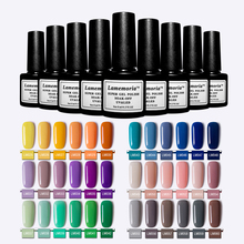 56 Colors Pure Nail Gel Polish Black White 8ml Vernis Semi Permanant UV Nail Art Lacquer Decoration Need LED Lamp Cured cured