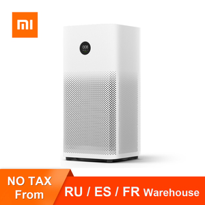 Xiaomi Mijia Air Purifier 2S OLED Display Laser Particle Sensor Wi-Fi Mijia APP Control Three-layer filtration Air Cleaner Home(China)