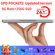 Updated GPD Pocket 2 Pocket2 8GB 256GB 7 Inch Touch Screen M