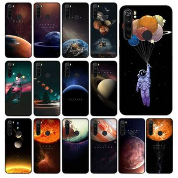 Yinuoda Space Solar System Planets Earth Mars Phone Case cover for Xiaomi Redmi 5A 6 6A 7 7A Note 6 7 8 Mi 5 A1 A2 Max2 image