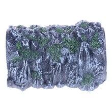 Пещера модель 1: 87 масштаб DIY песочный стол Модель Железнодорожный поезд туннель сад миниатюры фигурки художественные ремесла подарок для мальчиков домашний декор