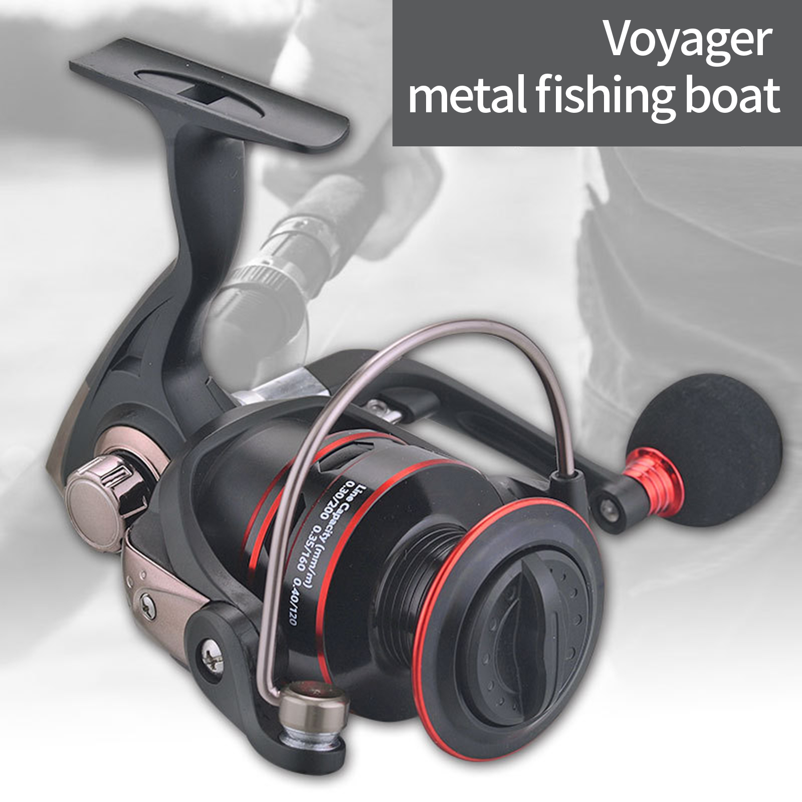 carretel de pesca alta velocidade metal 04