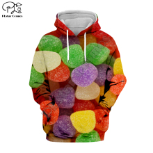 PLstar Cosmos Funny Candy Cartoon colorful Harajuku Tracksuit Casual 3D full Print Hoodie/Sweatshirt/Jacket/shirts Men Women S-2