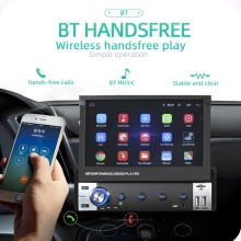 Voiture navigation 7 pouces Android simple lingot écran télescopique voiture navigation MP5 universel Android tout-en-un machine 9602