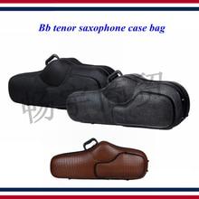 Wind instrument box parts Bb Tenor Saxophone case bag  Light body Oxford cloth imitation crocodile skin backpack