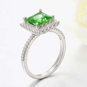 Image 5 - Kuololit Diaspore Sultaniteเปลี่ยนสีแหวนอัญมณีสำหรับสตรี 925 เงินสเตอร์ลิงแหวนหมั้นของขวัญเครื่องประดับFine