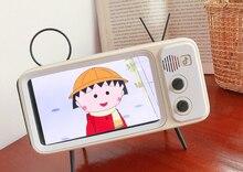 Ретро Маленькая ТВ мобильный телефон bluetooth Динамик live