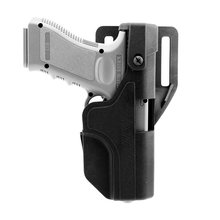 Tactical Gun Holster Auto Loading Holster Level 3 Lock OWB Pistol Holster Gun Holder for Glock 17 19 23